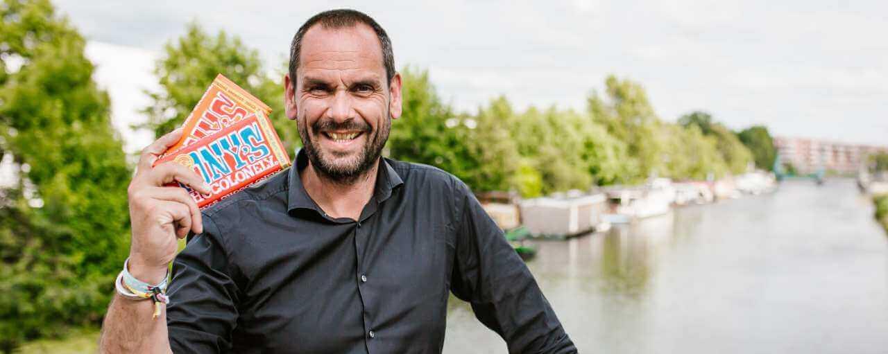 """Green Leader Henk Jan Beltman, Tony's Chocolonely: """"Ik wil het fundament zijn"""""""
